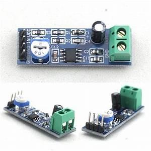 Lm386 Audio Amplifier Module 200 Times Input 10k