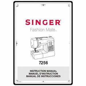 Instruction Manual  Singer 7256   Sewing Parts Online
