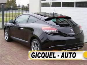 Megane 3 Noir : gicquel auto paris renault megane coupe gt 2 0 dci 160 ~ Gottalentnigeria.com Avis de Voitures