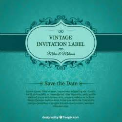 free wedding invitation sles green wedding invitation card vector free