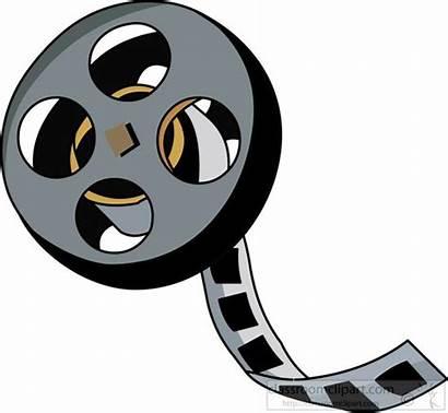 Reel Clipart Theatre Clip Camera Tape Graphics