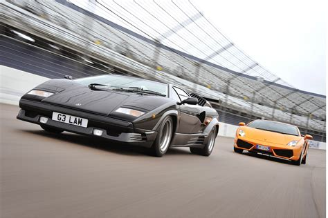 Lambo Vs Lambo  Living Legends  Auto Express