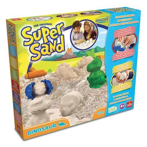 jouet club pate a modeler coffret sand dinosaures goliath king jouet pate 224 modeler modelage et gravure goliath