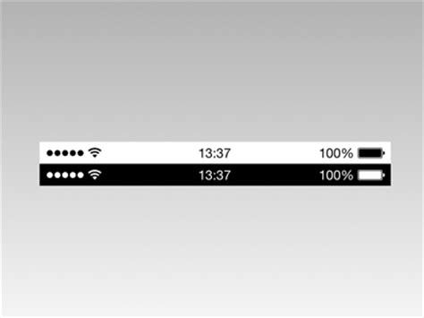 iphone status bar apple ios 7 popup text field sketch freebie download Iphon