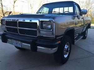 1991 Dodge Power Ram 2500 250 4x4 5 9 Turbo Diesel