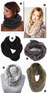 charpes tube en tricot et fausse fourrure taaora blog mode tendances looks 78686f4d80b