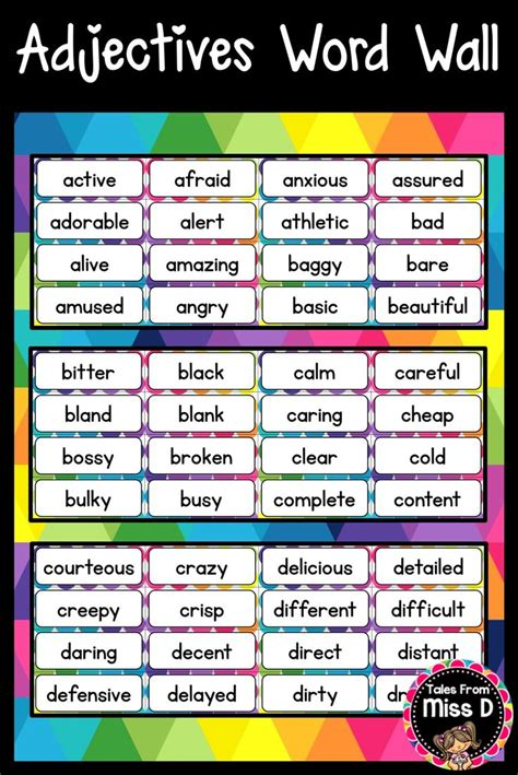 students develop  vocabulary  displaying