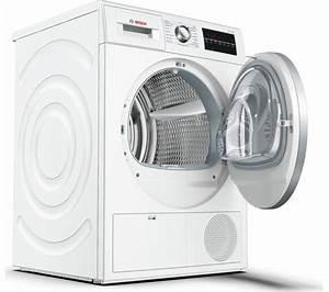 Bosch Waschtrockner Serie 6 : buy bosch serie 6 wtg86402gb condenser tumble dryer white free delivery currys ~ Frokenaadalensverden.com Haus und Dekorationen