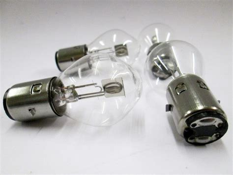 12v 35/35w Ba20d Motorbike Headlight Bulb Bosch Type Fit