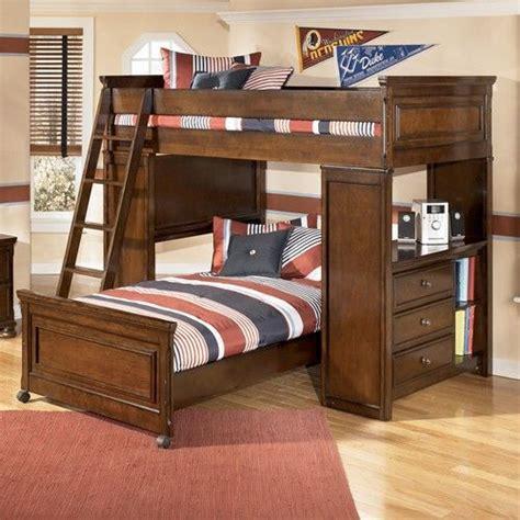 portsquire loft bed  chest desk  signature