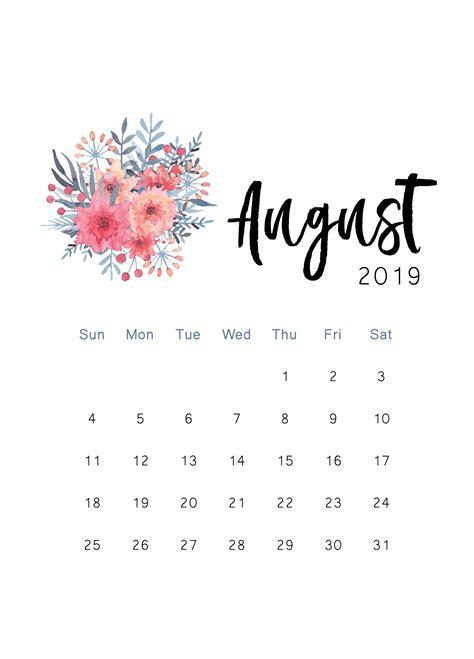 printable calendar  cactus creative print