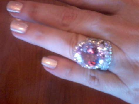 pink padparadscha sapphire weddingbee katyelle s padparadscha sapphire engagement ring weddingbee