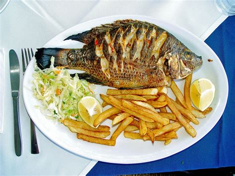 cuisine made in fish as food