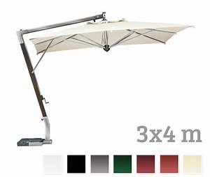 Sonnenschirme Gastronomie 5x5m : sonnenschirm scolaro giotto braccio 3x4 ampelschirm aluminiumschirm vom sonnenschirm ~ Yasmunasinghe.com Haus und Dekorationen