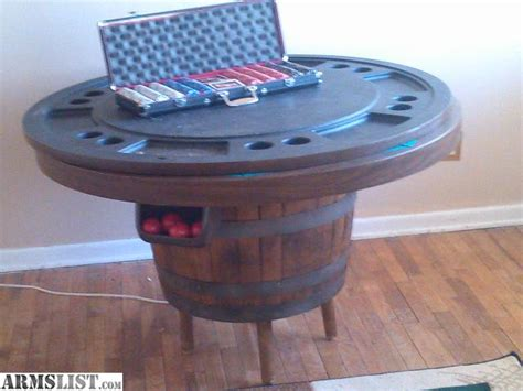 bumper pool table for sale armslist for sale whiskey barrel furniture poker