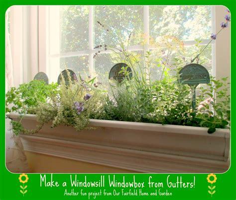 Windowsill Garden Box by Diy Windowsill Windowboxes Our Fairfield Home Garden