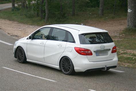 Spyshots Mercedes Testing New B Class Sportamg Model