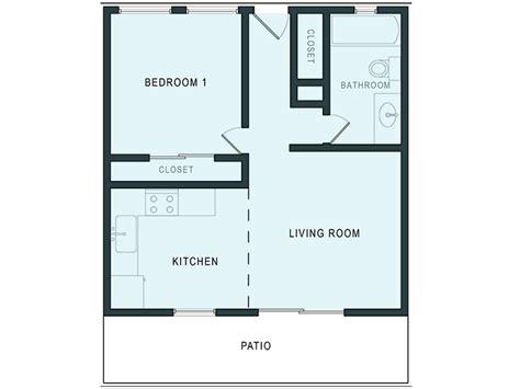 1 Bedroom Apt Floor Plans