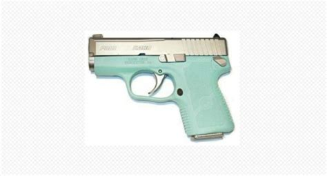5 Beautiful and Deadly Pistols in Tiffany Blue