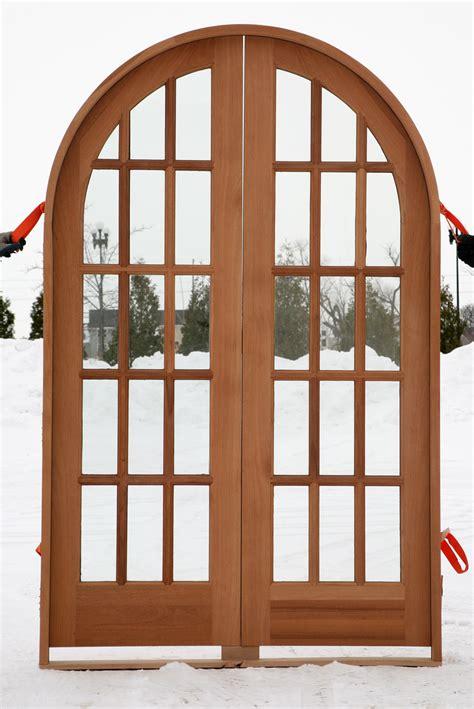 Exterior Wooden French Doors