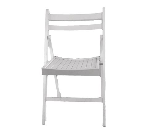 white wood slotted folding chair chair rentals orlando