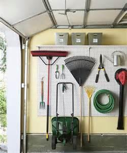 pegboard ideas kitchen garage organization ideas how to organize a garage