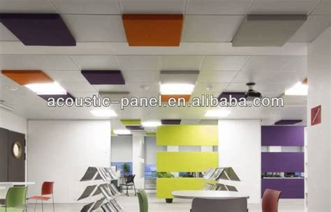 Soundproofing Drop Ceiling Office by Vertically Hanging Acoustic Ceiling Baffles Panels Buy