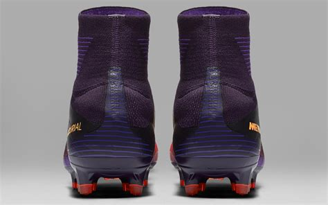 purple nike mercurial superfly    boots released