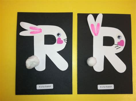 r is for alphabet on raccoon craft 660   8fba11f376716b2120530ddb749d61d7