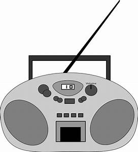Radio clip art Free vector in Open office drawing svg ...
