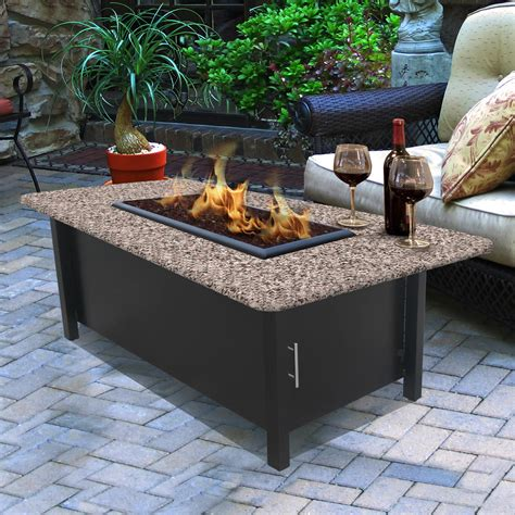 Turn your backyard into a cozy space with the construction of a simple. California Outdoor Concepts Chat Height Coffee Table - Fire Pits at Hayneedle