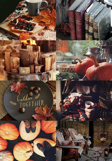 Aesthetic Thanksgiving Wallpaper by Here Some Cosy Autumn Gryffindor Aesthetics