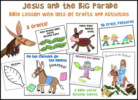 palm sunday crafts and activities 393 | palm sunday bible lesson pic
