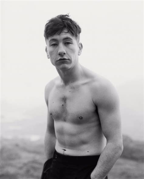 yes that is mini title tom johnson shoots barry keoghan for dazed