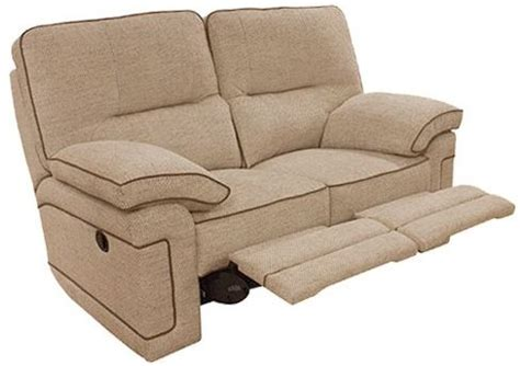2 seater fabric electric recliner sofa buy buoyant plaza 2 seater fabric recliner sofa online