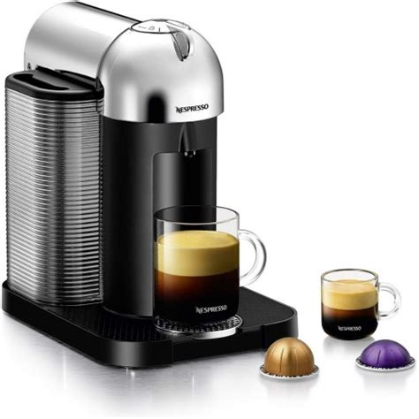 Select from our range of originalline capsule machines, ideal for the space conscious espresso based coffee lover who also enjoys long blacks, lattes, cappuccinos and flat whites. Nespresso Vertuo Coffee and Espresso Machine by Breville, Chrome