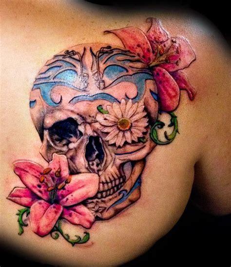 12 Watercolor Skull Tattoo Designs   Pretty Designs