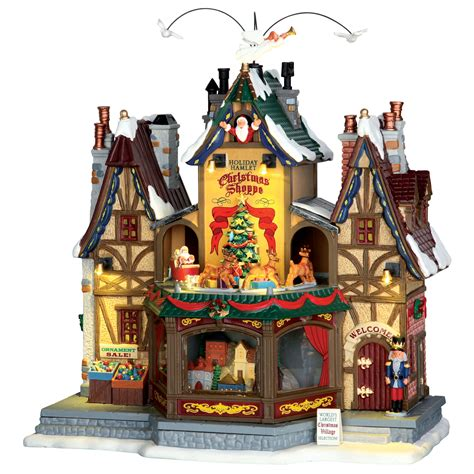 lemax village collection christmas village building