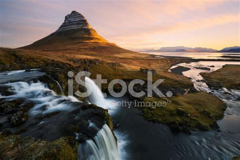 Kirkjufell In Iceland Stock Photos