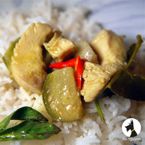 cuisine thailandaise poulet poulet au curry vert cook expert magimix