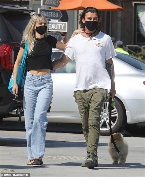 Gavin Rossdale steps out with a blonde beauty on his arm ...