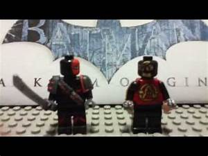 NEW!!! LEGO Customs Deathstroke and Deadshot! - YouTube