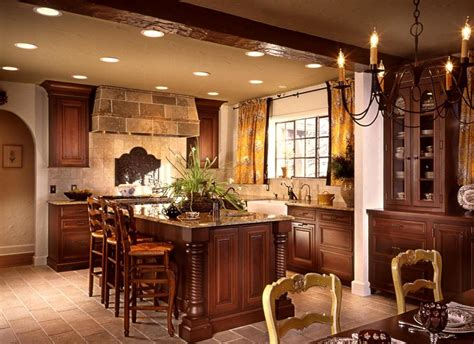 English Style Kitchen Design For Astounding Display