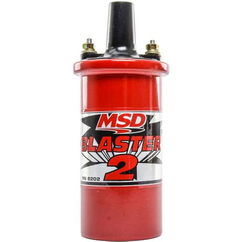 Msd High Performance Red Blaster Coil Kit Hardin Marine