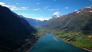 Aerial, Footage, Beautiful, Nature, Norway, Stock, Video