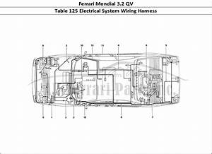 Buy Original Ferrari Mondial 3 2 Qv 125 Electrical System