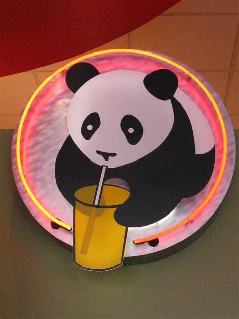 panda express sign   opened   street