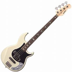 Yamaha BB424X Electric Bass Guitar - Vintage White Finish ...