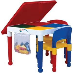 tot tutors 2 in 1 construction table and 2 chairs toys quot r