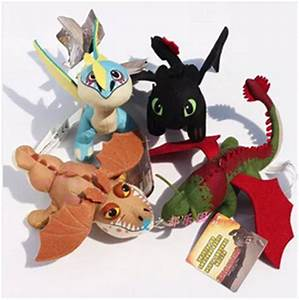4PCS How to Train your Dragon 2 Toothless Night Fury ...